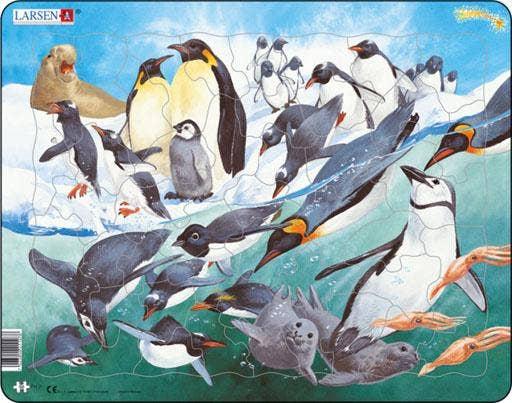 Larsen leerpuzzels - Wilde dieren