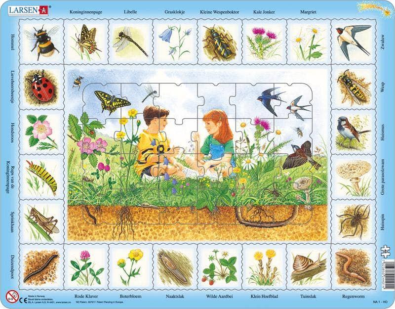 Larsen puzzel - Natuur om ons heen
