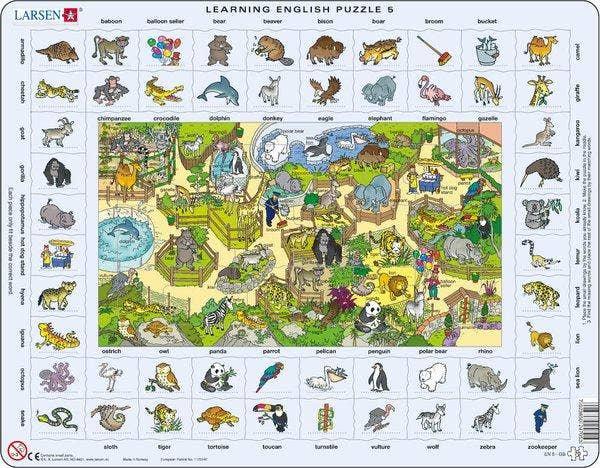 Learning English 5 - Zoo