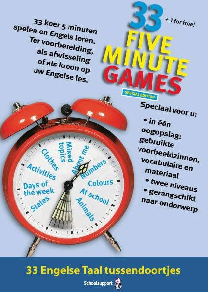 33 Five minute games