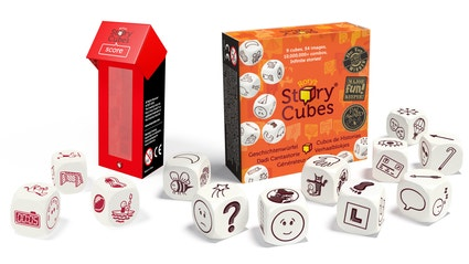 Rory Story Cubes (verhaaldobbelstenen)