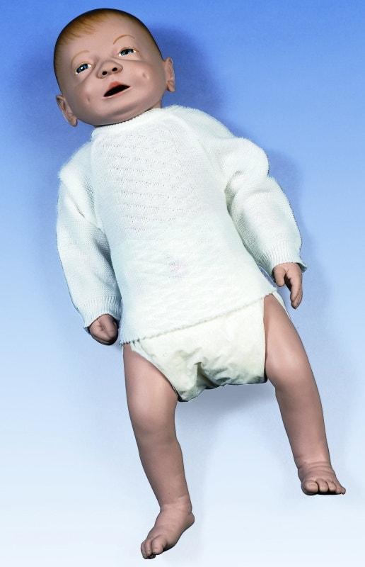 Baby verzorgingsmodel (jongen)