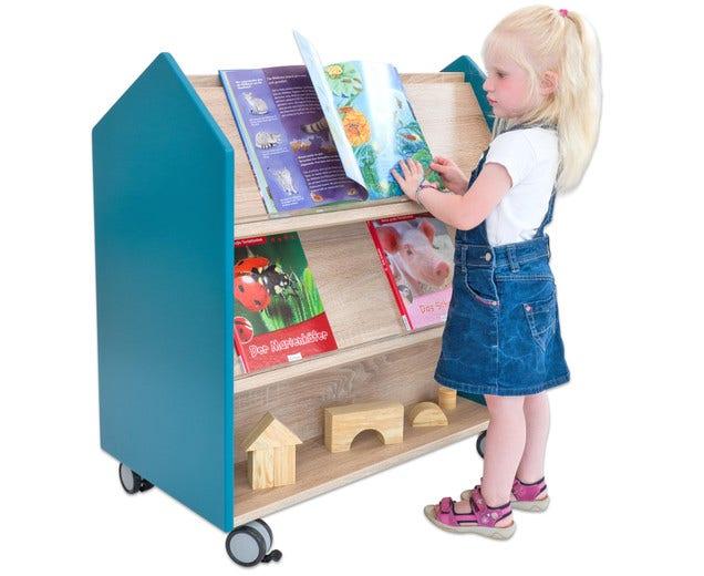 EduCasa rijdbare bibliotheek
