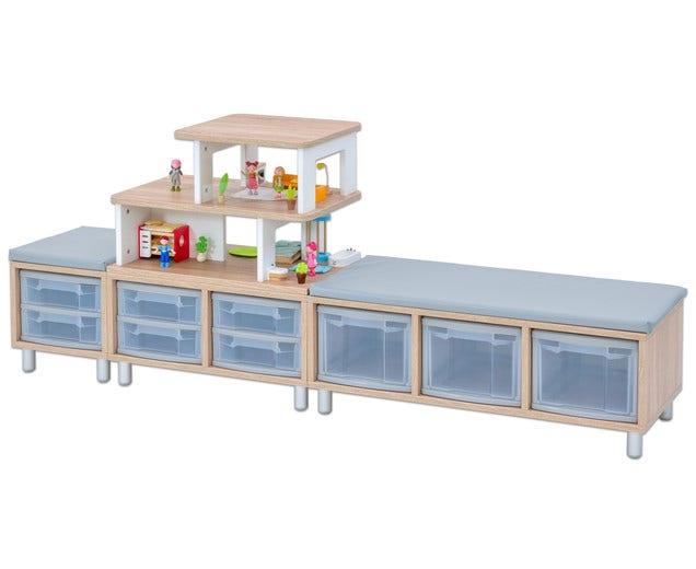 EduCasa combinatie met poppenhuis