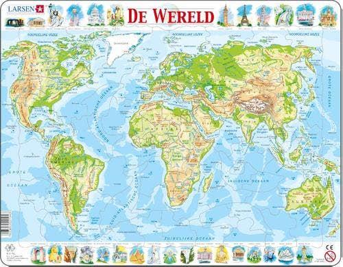 Larsen puzzel - De Wereld natuurkundig