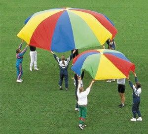 Parachute voor spel en dans