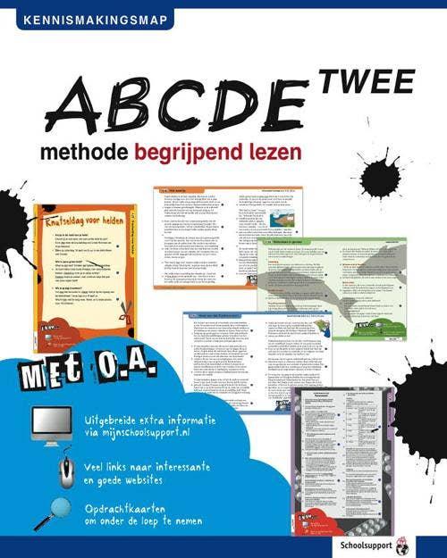 ABCDE-TWEE Lesmethode begrijpend lezen
