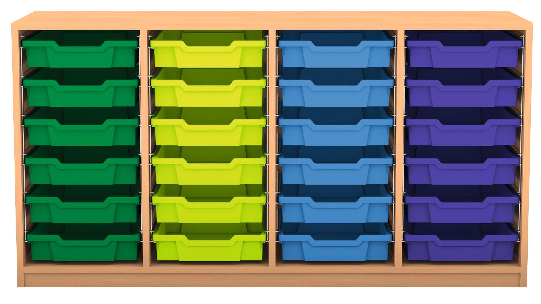 Deze kast is leverbaar in diverse kleuren en uitvoeringen