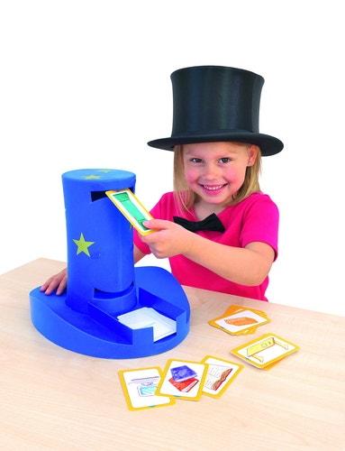Magische hoed die kaarten voorleest