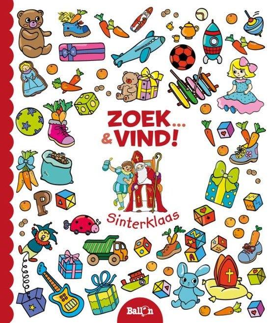Zoek & vind Sinterklaas