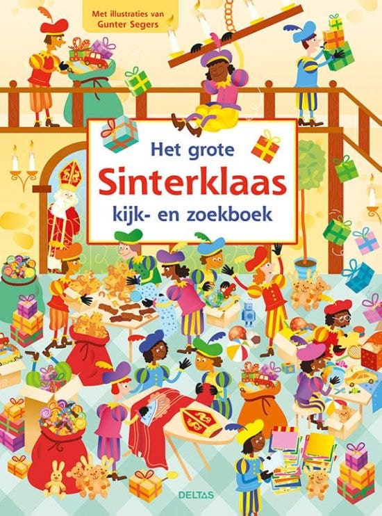 Het grote Sinterklaas kijk- en zoekboek