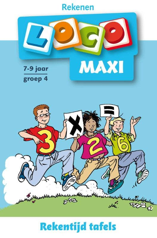 Maxi Loco / Rekentijd / Tafels groep 4