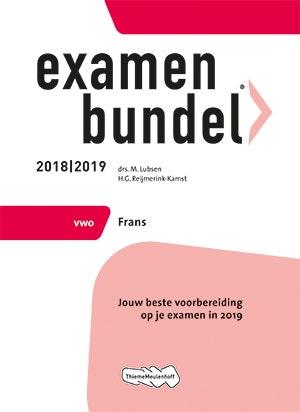 Examenbundel vwo Frans 2018/2019