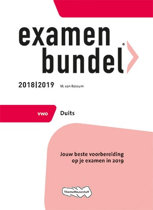 Examenbundel vwo Duits 2018/2019