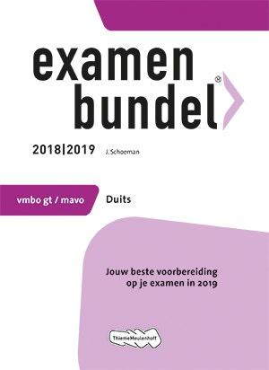 Examenbundel vmbo-gt/mavo Duits 2018/2019