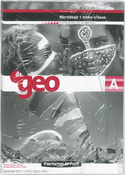 De Geo 1 Vmbo-t/Havo Werkboek A+B