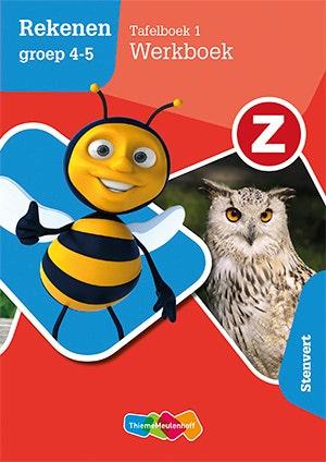 Mijn tafelboek Z-Rekenen groep 4-5 deel 1 Werkboek