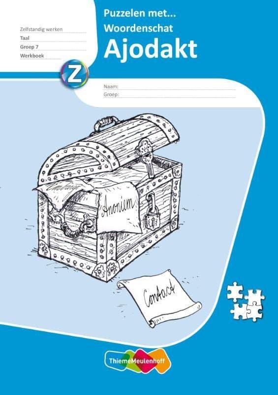 Ajodakt Taal & Spelling - Puzzelen met...
