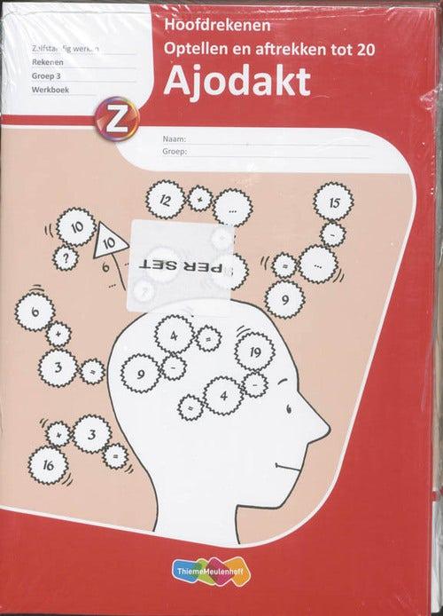 Ajodakt Rekenen - Groep 3 - Optellen en aftrekken tot 20 - Werkboek (set 5 stuks)