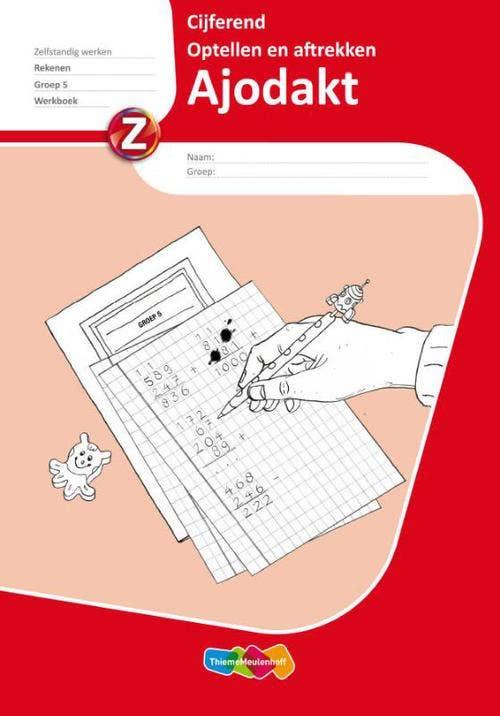 Ajodakt Cijferend  Groep 5 Werkboek