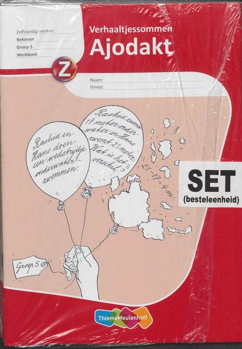 Ajodakt (set 5 ex) Rekenen Groep 5 Werkboek