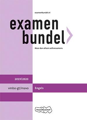Examenbundel vmbo-gt/mavo Engels 2019/2020