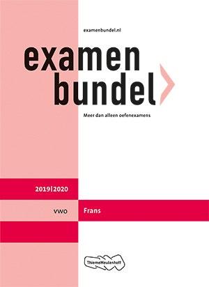 Examenbundel vwo Frans 2019/2020