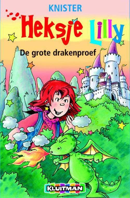 Heksje Lilly De grote drakenproef