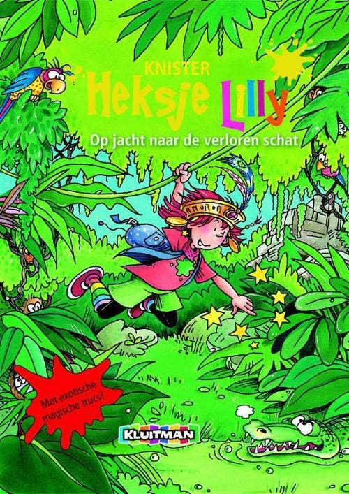 Heksje Lilly Op jacht naar de verloren schat