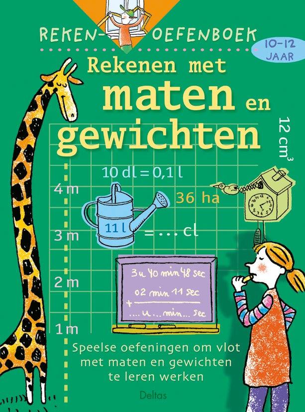 Rekenoefenboek - Rekenen met maten en gewichten - groep 7 en 8