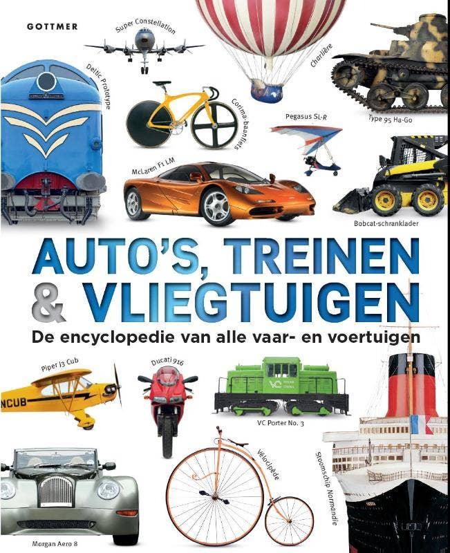 Auto's; treinen & vliegtuigen