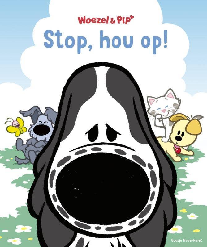 Stop; hou op!