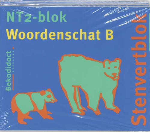 Stenvertblok NT2-blok set 5 ex Woordenschat B