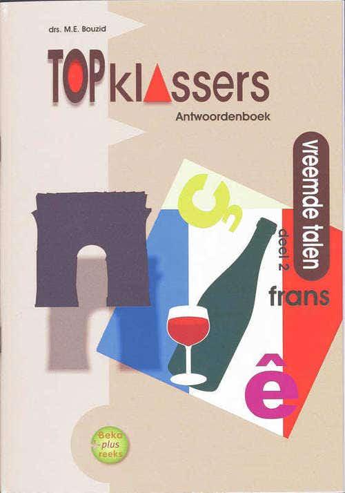 Topklassers Vreemde Talen - Frans - Antwoordenboek