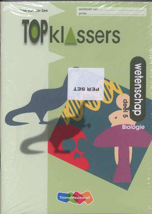 Topklassers; Wetenschap; biologie werkboek 5