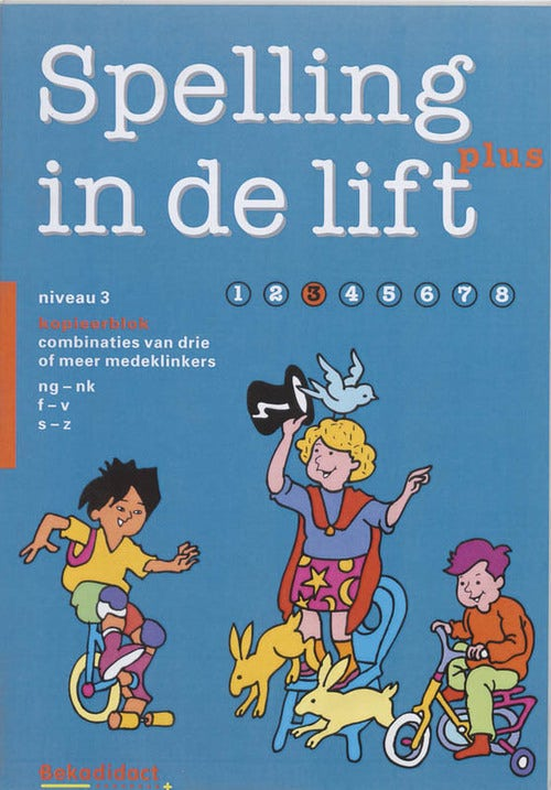 Spelling in de lift Plus Groep 4 Kopieerblok 3