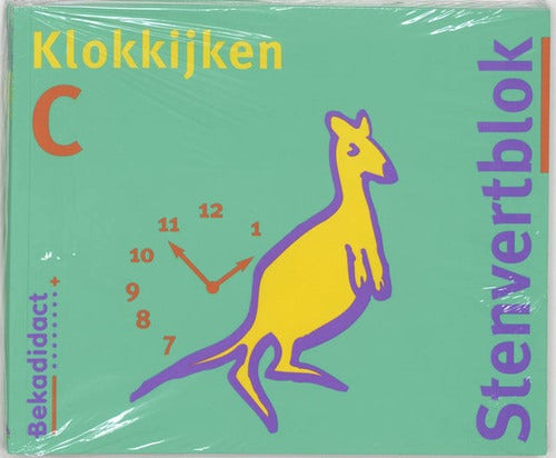 Stenvert Rekenen Groep 4/5 Klokblok C