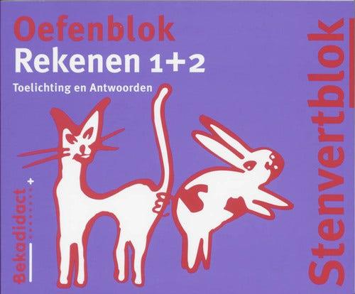 Stenvert oefenblok - Groep 3/4 - Rekenen 1/2 - Antwoordenboek