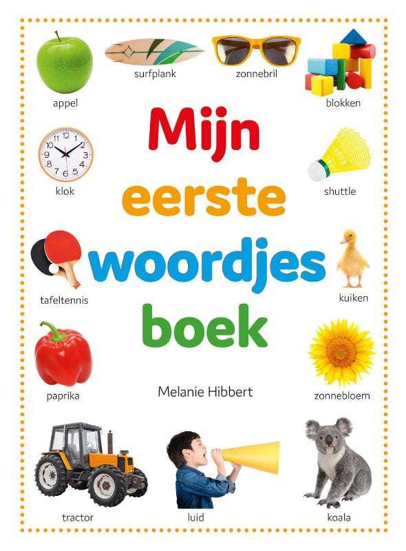 Mijn eerste woordjes boek