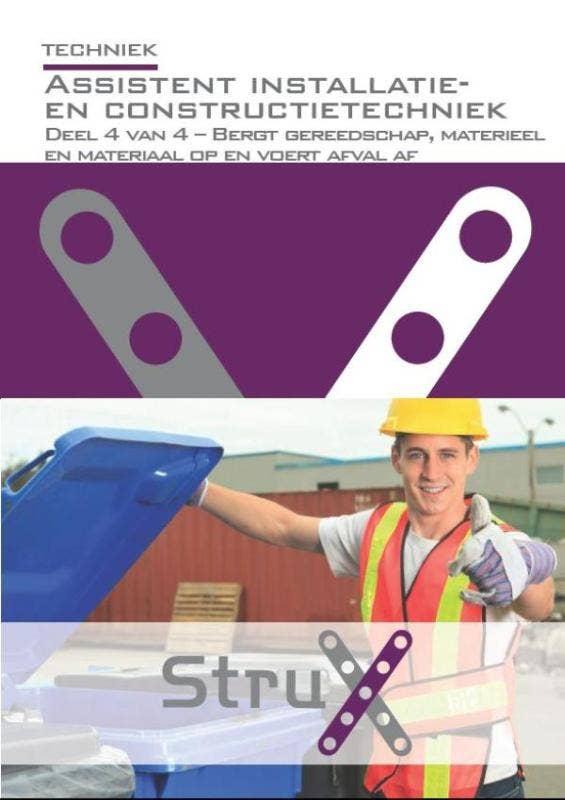 StruX Assistent installatie- en constructietechniek - deel 4 - Bergt gereedschap
