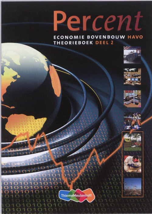 Percent Economie 2 theorieboek Economie bovenbouw Havo