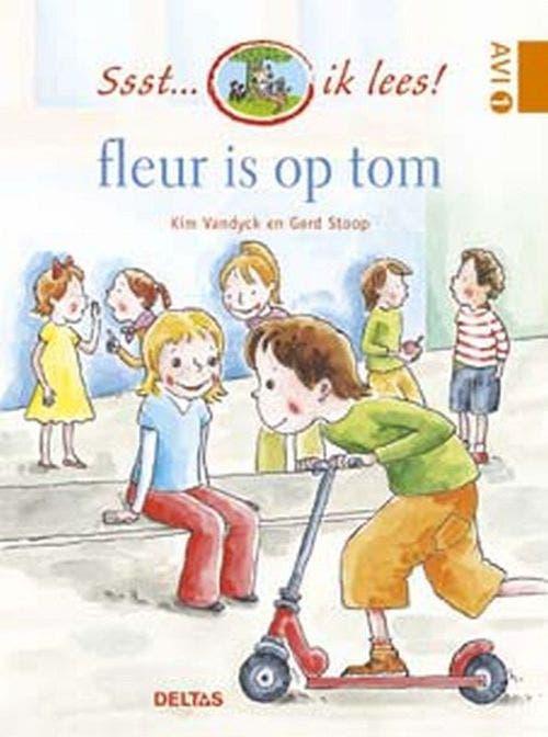 Ssst... ik lees! - Fleur is op Tom!