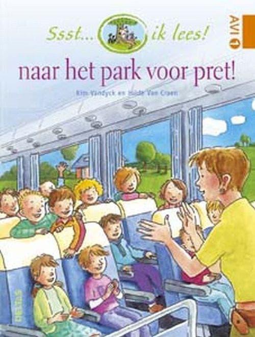 Ssst... ik lees! naar het park voor pret!  (AVI 1 - AVI nieuw M3)