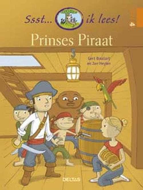 Ssst... ik lees! Prinses Piraat (AVI 4 - AVI nieuw E4)