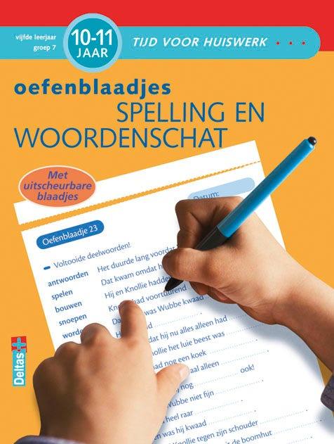 Oefenblaadjes - Spelling en woordenschat - groep 7