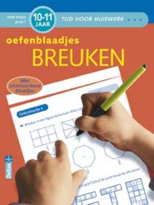 Tijd voor huiswerk Oefenblaadjes breuken (10-11 j.)
