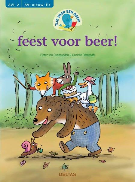 Tijd voor een boek! feest voor beer! (AVI: 2 - AVI nieuw E3)