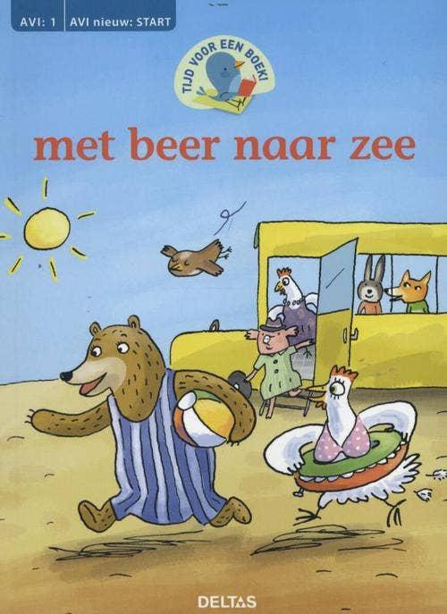 Tijd voor een boek! met beer naar zee (AVI: 1 AVI nieuw: start)