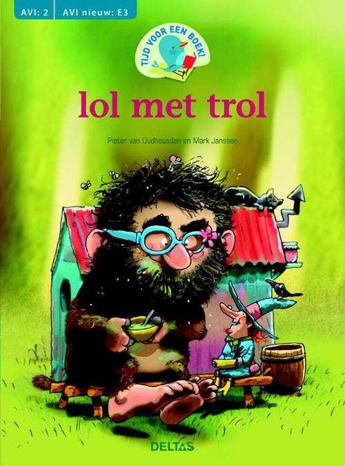 Tijd voor een boek! lol met trol (AVI: 2 AVI nieuw: E3)