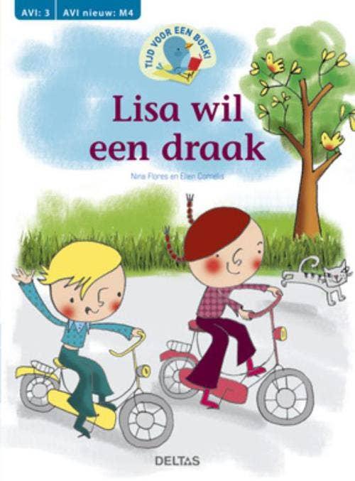 Tijd voor een boek! Lisa wil een draak - AVI: M4